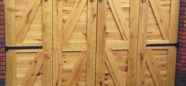 Fassadeverkleidung Eiche bei Holzhandelonline.de!